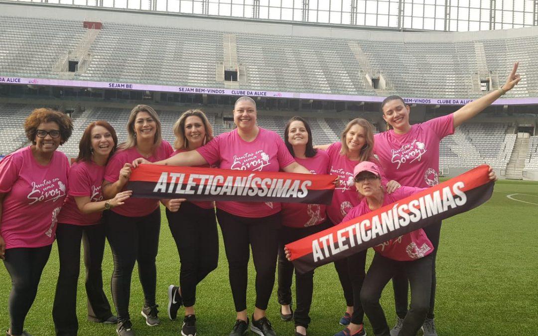 Furacão Rosa: Atleticaníssimas e Clube da Alice